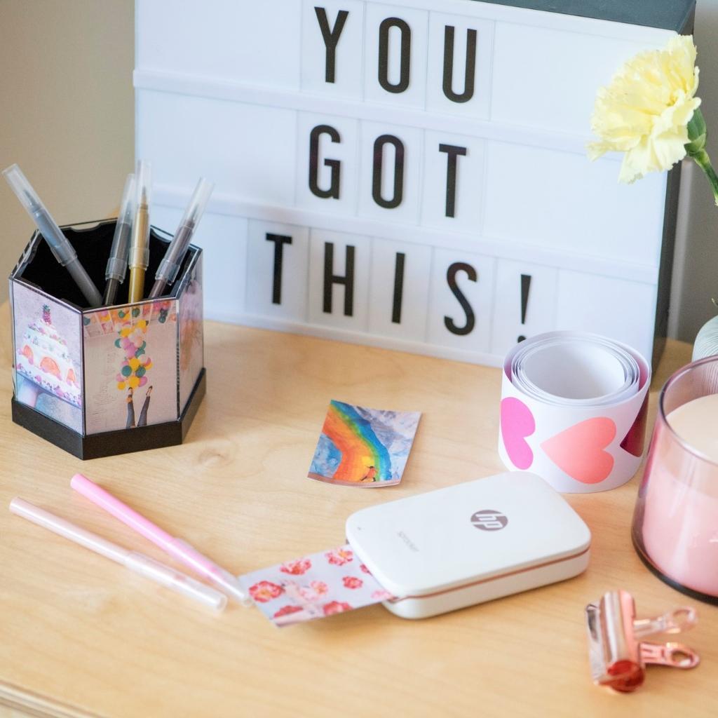 'You got this !' 😉 Donnez du style à votre bureau avec #HPSprocket ! https://t.co/AIgGimrf0B