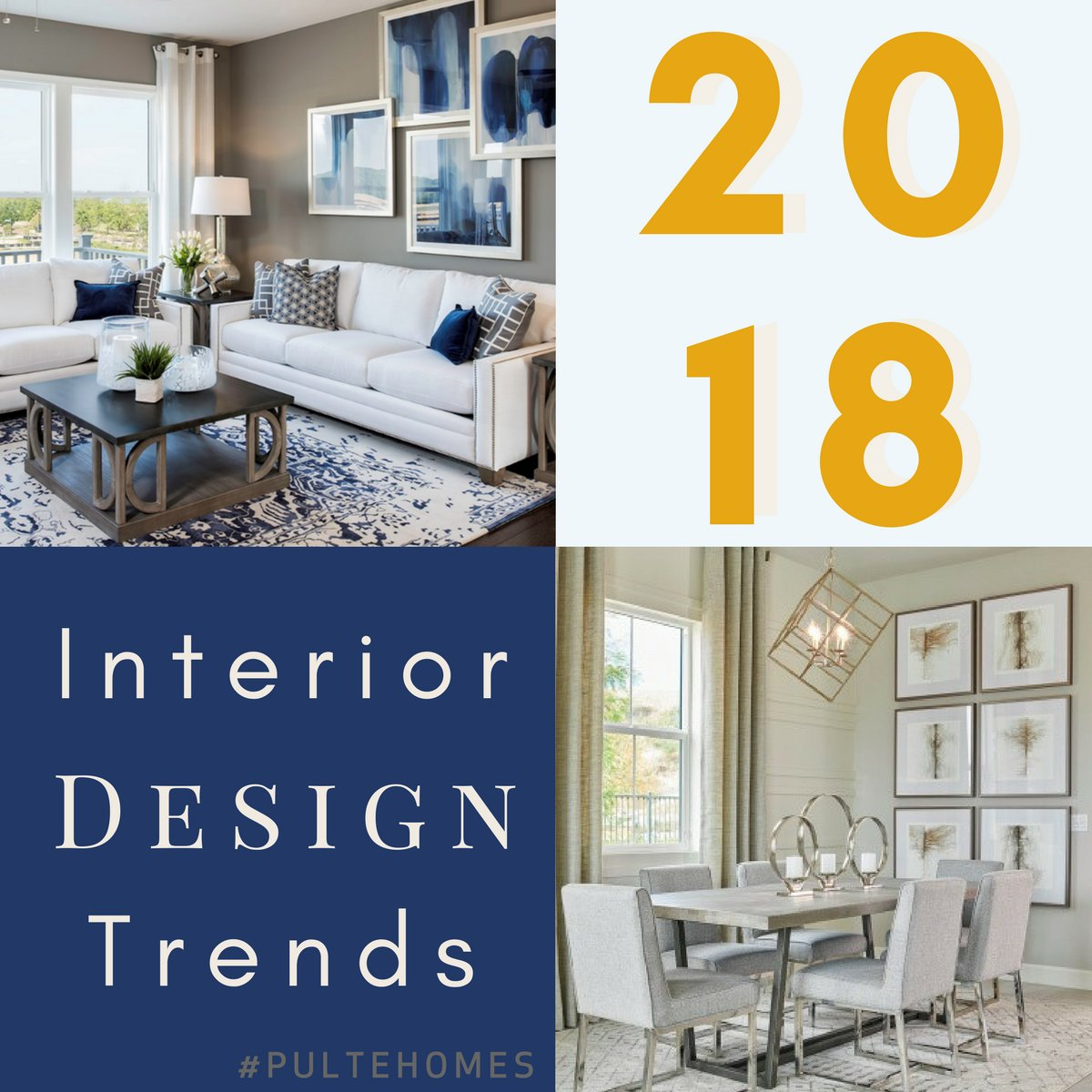 ... 2018 From Our #PulteHomes Design Team. What Styles Do You Think Made  The List? Tweet Us Your Predictions Or Check Them Out Here:  Http://bit.ly/2CRVNd9 ...