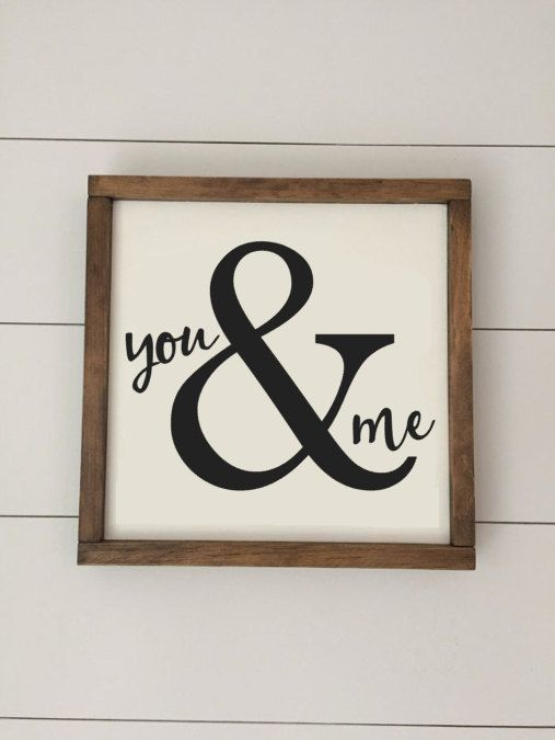 New post (You & Me - Valentines Day Sign Available as a mini 8x8 sign or a standard 12x12...) has been published on Happy Valentine Day - happy-valentinesday.info/you-me-valenti…