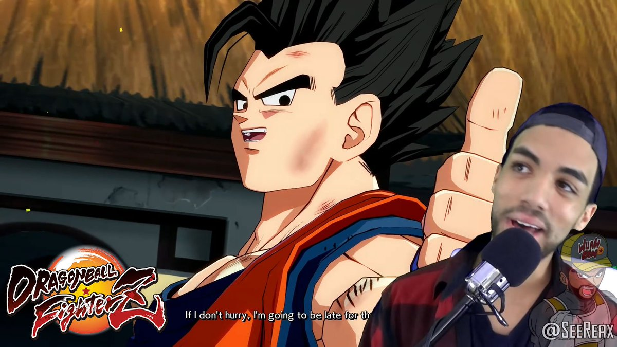 Find yourself someone who looks at you like @SeeReax looks at Gohan. WATCH as he takes on his first ranked match in #DRAGONBALLFighterZ!   Prepare to join the fight! Dragon Ball FighterZ launches Jan. 26th! Reserve your copy today: https://t.co/qBSpAZa7qh