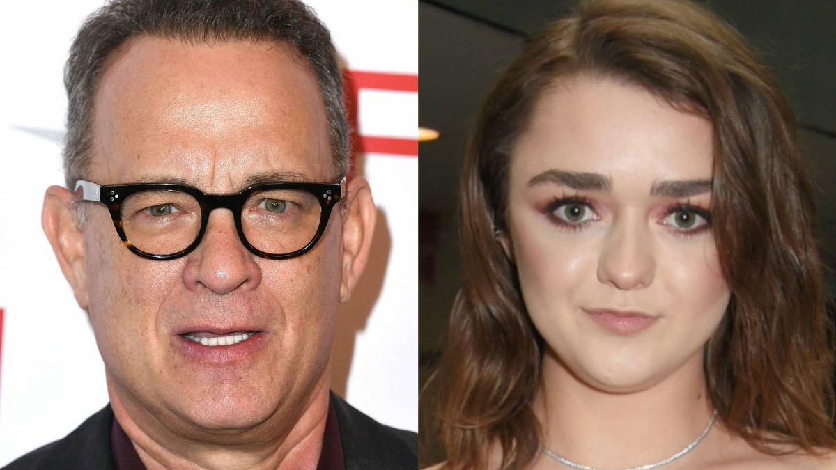 Maisie Williams casually put Tom Hanks o...