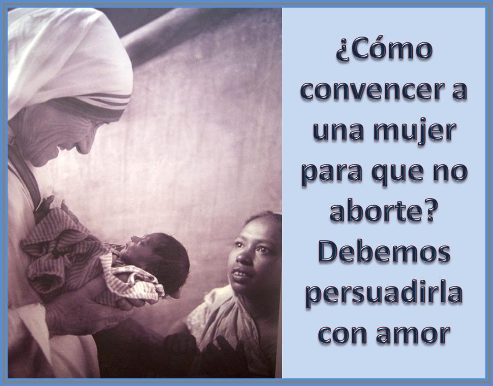 #MadreTeresa: 'el aborto es la peor pobr...