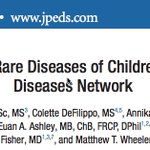Fantastic to see our paper out in @JPediatr! Learn about @UDNconnect and #raredisease through our patient w/ FOXG1 syndrome. @MWheelerMD @euanashley @Foxg1Research  https://t.co/es7Jzw1SMo