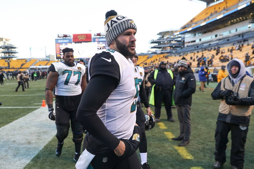 Bengals fans thanked Blake Bortles for ending the Steelers' season by donating to his foundation 😬 http://ble.ac/2rb6pzj