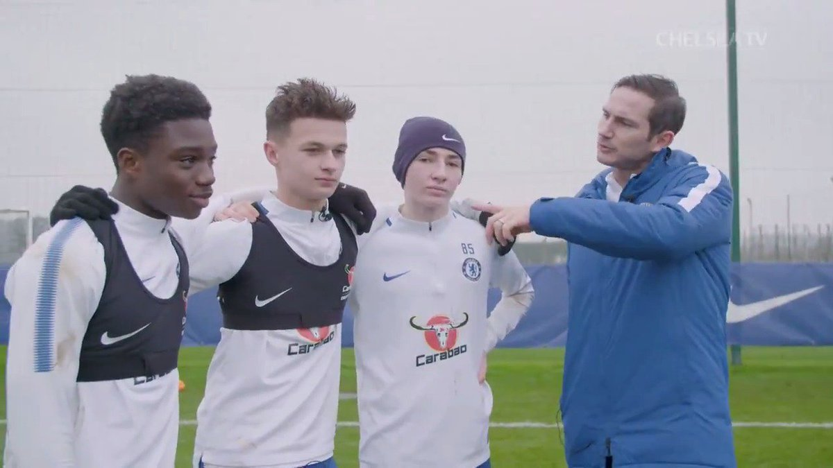 With help from Frank Lampard last year, three of our academy players attempted to recreate Zola's incredible goal too!  Billy Gilmour, take a bow! 👏