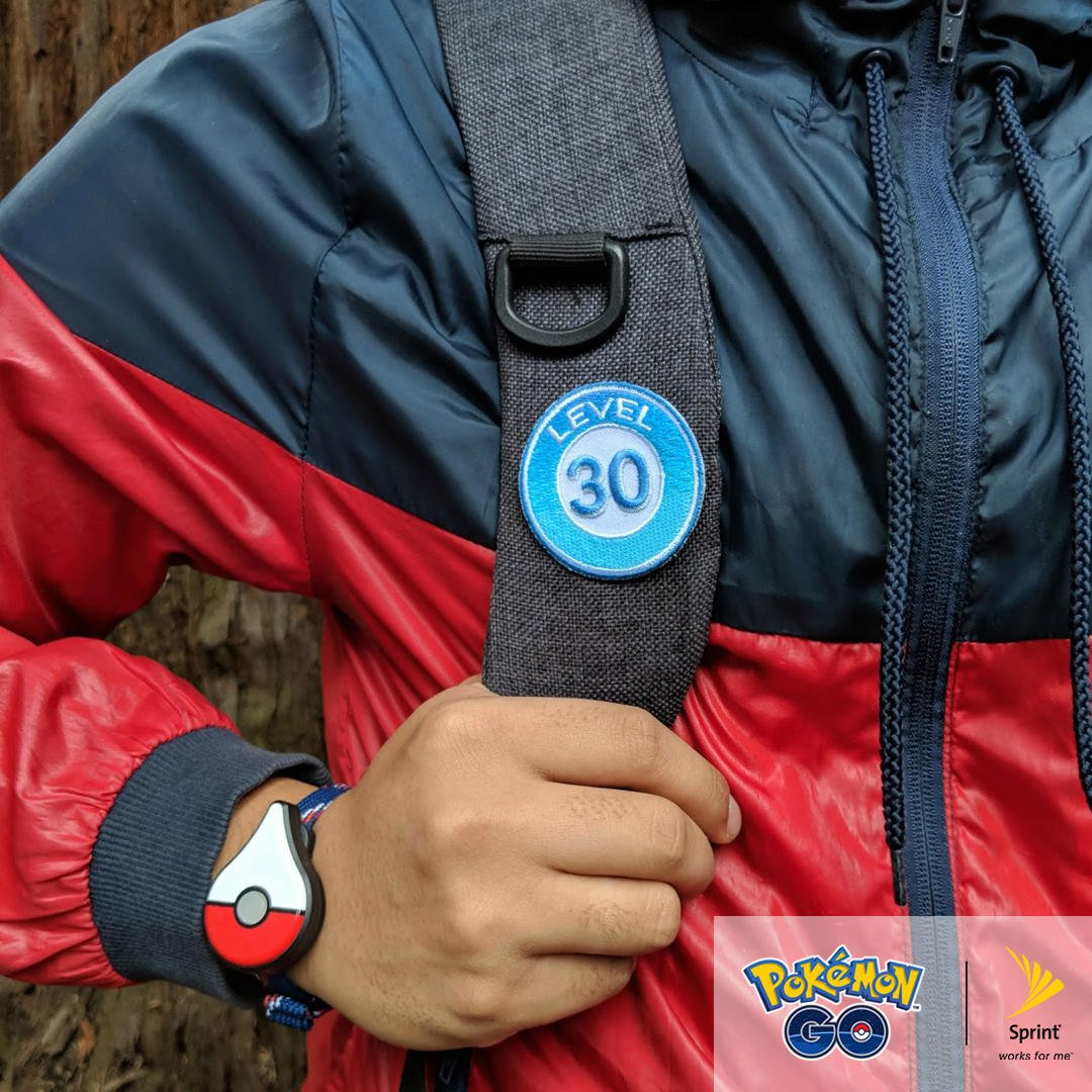 Pokmon go auf twitter trainer level badges are back in stock head over to your nearest sprint gym to get yours and be sure to ask about 100 in free pokcoins when you switch to sprint or add a linepicitter biocorpaavc Image collections