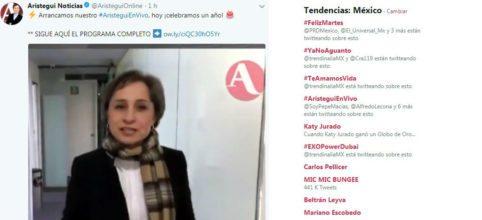 Felicidades ['@AristeguiOnline: 'Llueven...