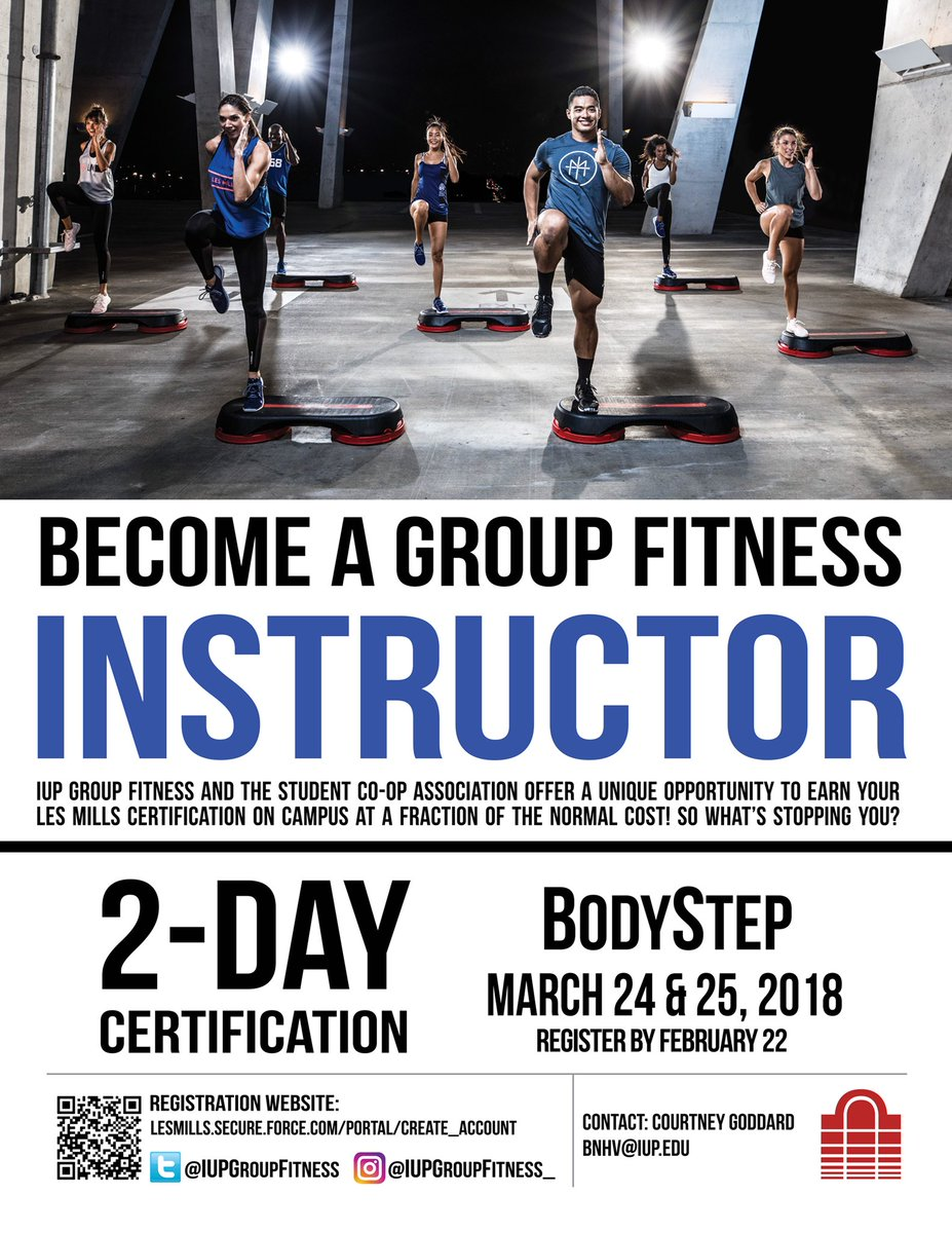 Iup Group Fitness On Twitter Iupgroupfitness And The