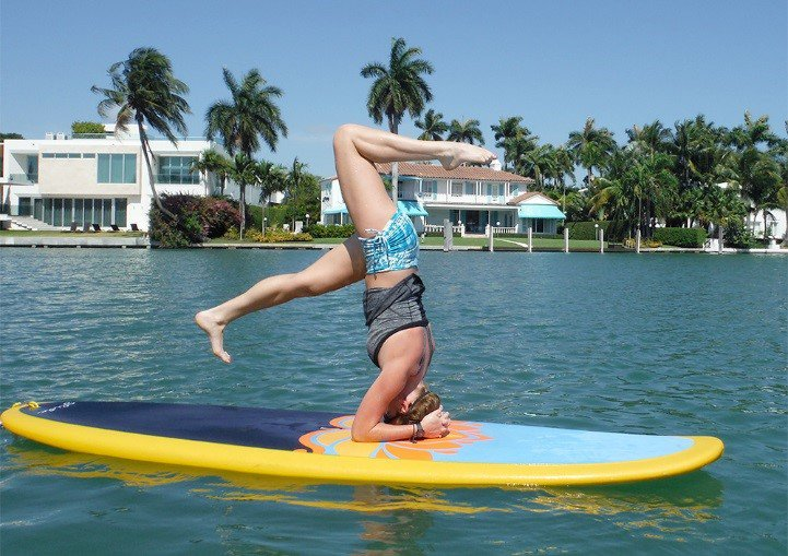 A3: Stand Up Paddleboard Yoga is the bes...