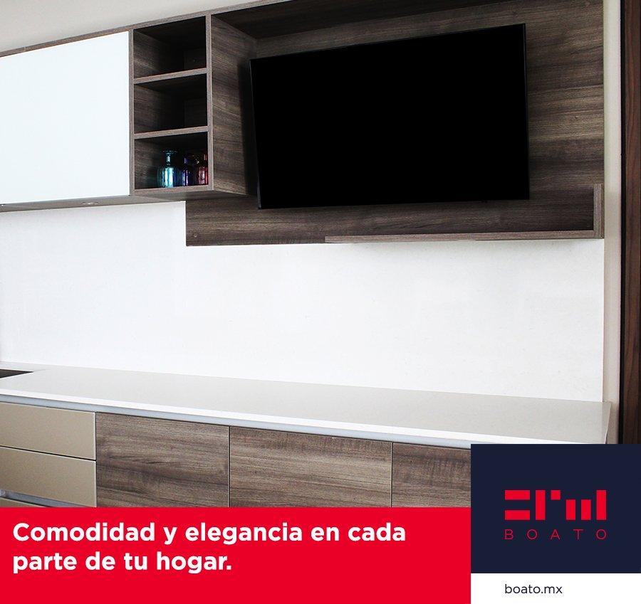 Comodidad a tu medida.  Diseña tu Mueble de Tv con los mejores materiales y acabados Nacionales y de Importacion.  #BOATO #InteriorDesign #MuebledeTV https://t.co/4YHr8laSDQ
