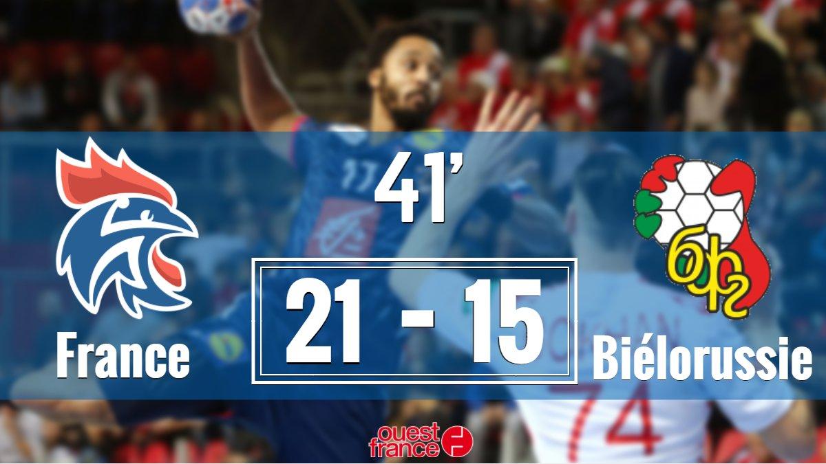 #FRABIE #FRABLR #Euro2018 La France a maintenant une bonne avance de 6 buts !   https:// www.ouest-france.fr/sport/handball/euro/handball-euro-2018-direct-suivez-france-bielorussie-5503257  - FestivalFocus