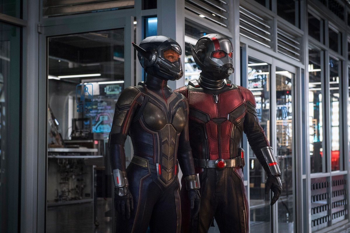 Official still for ANT-MAN AND THE WASP!...