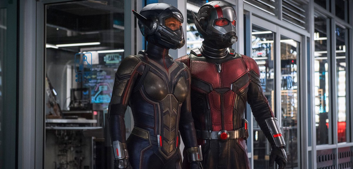 Ant-Man and the Wasp look ready for battle in their new suits