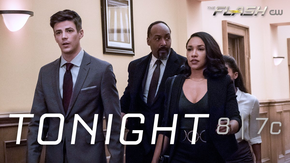 #TheFlash returns in ONE HOUR on The CW!...
