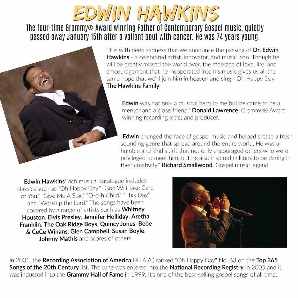 Edwin Hawkins on Twitter: