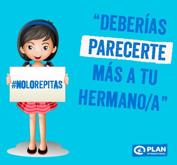 Plan International Perús Tweet Nolorepitas Aquí Te