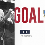 First goal of the night comes courtesy of @swfc and  Marco Matias 👌