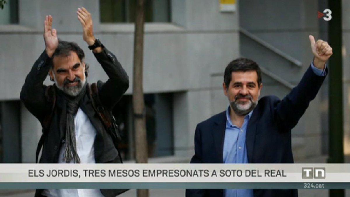 RT @PereMas: La vergonya d'Europa. La infàmia d'Espanya. #LlibertatPresosPolítics https://t.co/Ybk17MMH54