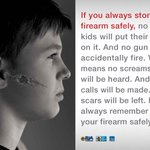 1.4 million homes have firearms stored in a way that makes them most accessible to about 2.6 million children. Never let your gun get into the wrong hands. https://t.co/Nz8QmbZEHy