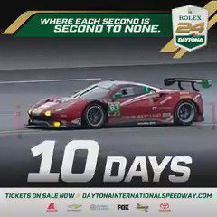 Image for the Tweet beginning: We're only 10 days away