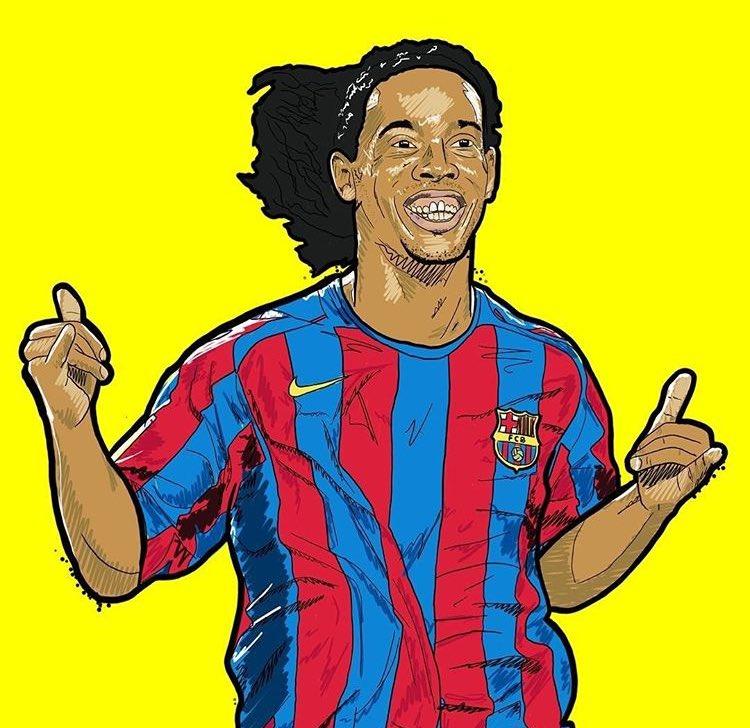 ⚡️ Ronaldinho, profesyonel futbol kariye...