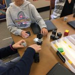 I don't have much experience with Cubelets but experimenting with thes robot blocks today was awesome! #d123 #d123cov