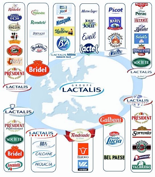 RT @vap0risat0r: Boycottons tous ces produits commercialisés par ces escrocs ! #boycott #lactalis #CashInvestigation https://t.co/wzL0FPm1CC