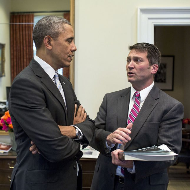 Dr. Ronny Jackson has been the President...