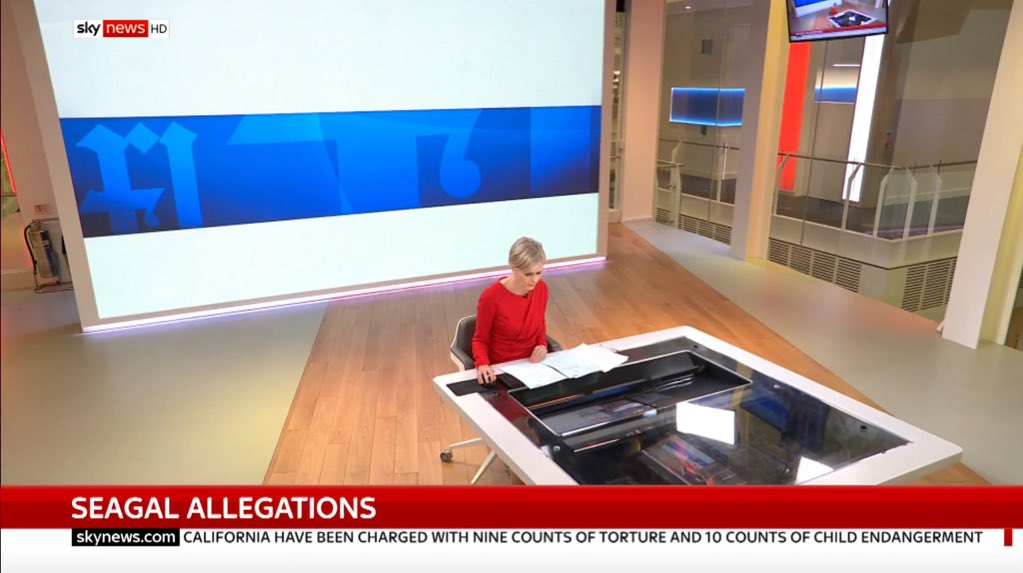 Welcome back, glass box! #skynews https:...