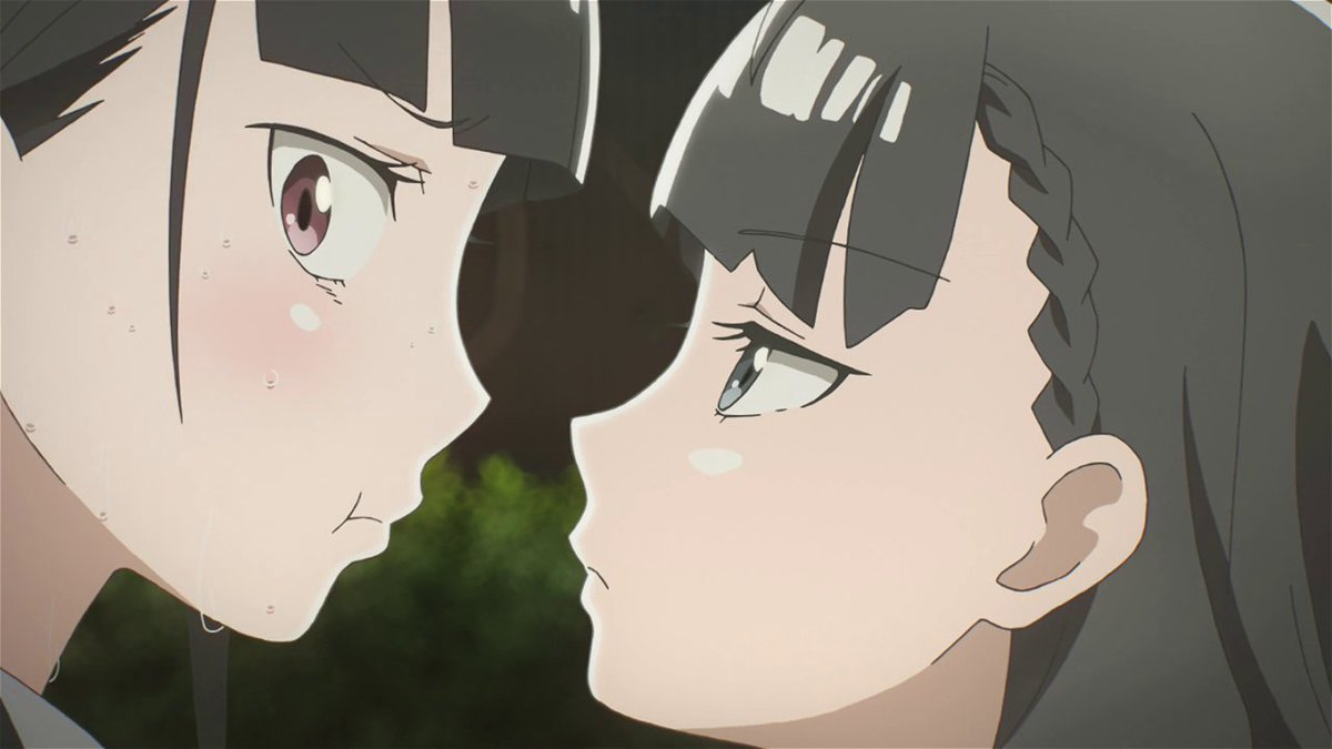 Yuzuki awfully looks like as if she want...