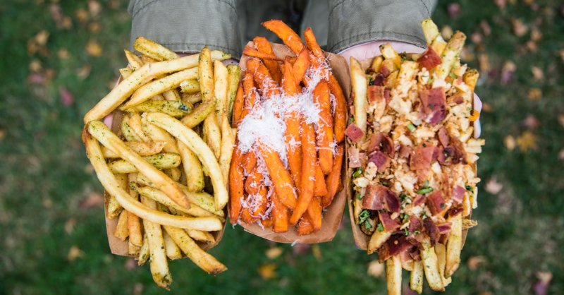 Ever ordered a salad... so you can get a side of 🍟🍟🍟? #TuesdayThoughts