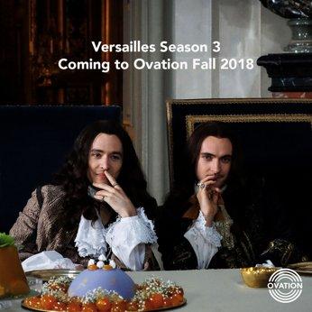 Jamais deux sans trois. Hooray for Season 3 👑 #Versailles #VersaillesFamily  @gblagden @vlavla https://t.co/ph9i3aXAPZ