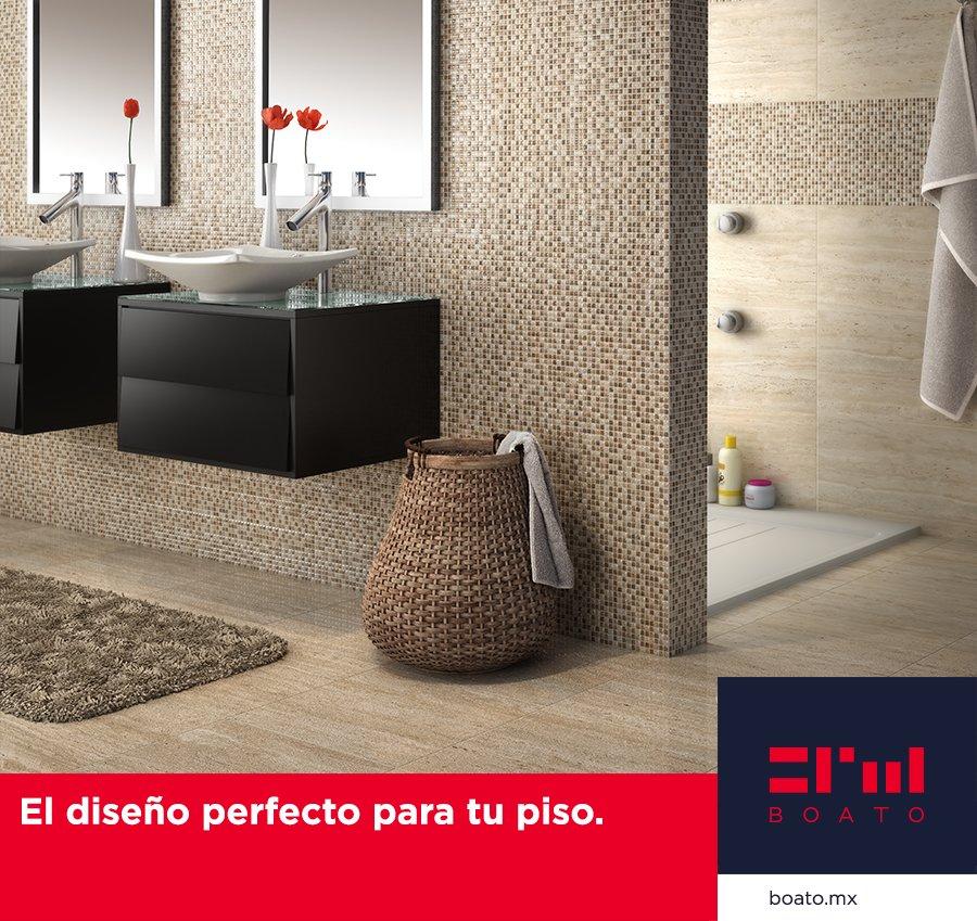 Encuentra el piso perfecto para el diseño de tu baño. La más alta calidad y variedad en diseños para personalizar tu hogar.  #BOATO #InteriorDesign #PisosyBaños https://t.co/7yA08h6U8n