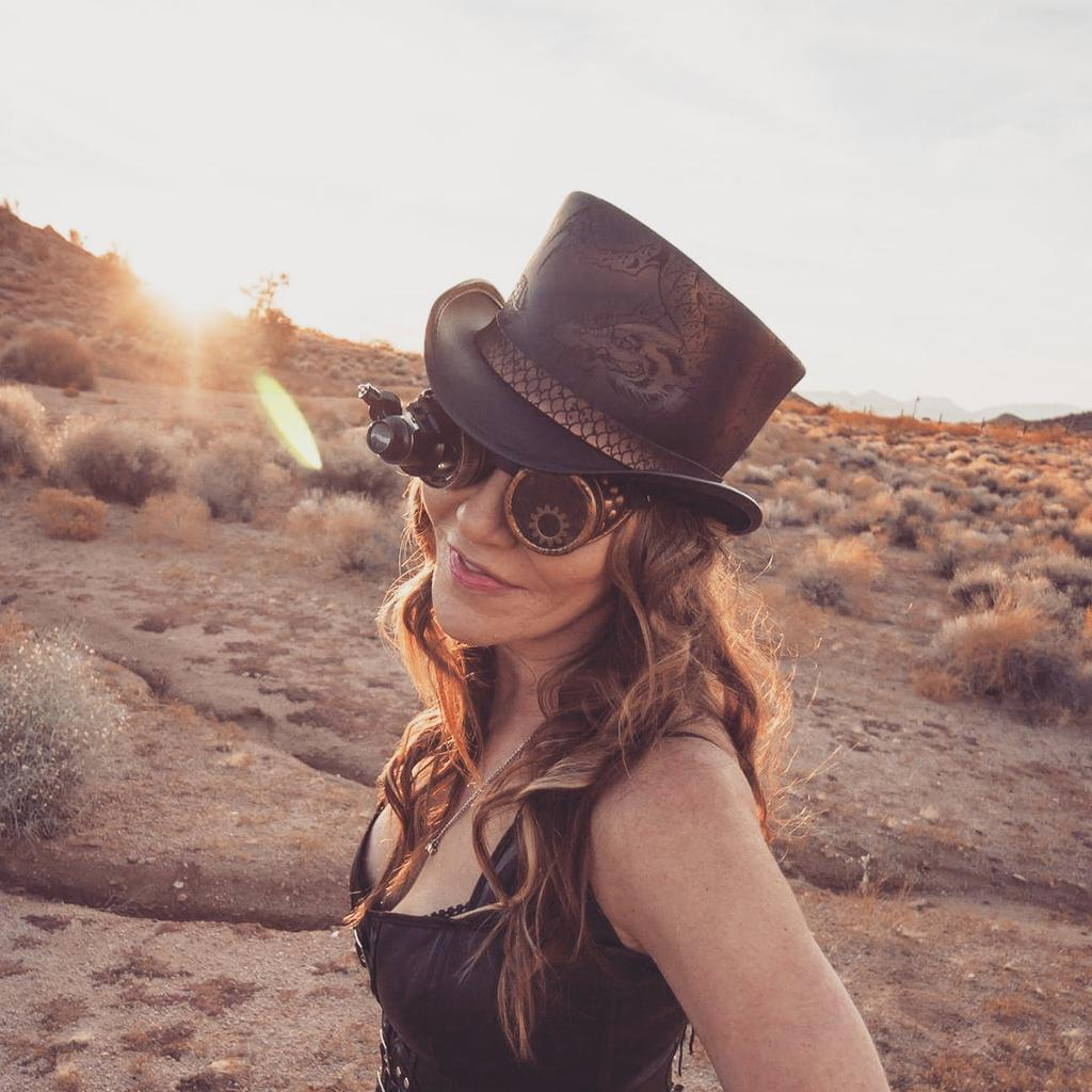 Find what inspires you!  #hattastique #perfectlytoppedoff #steampunk #inspire