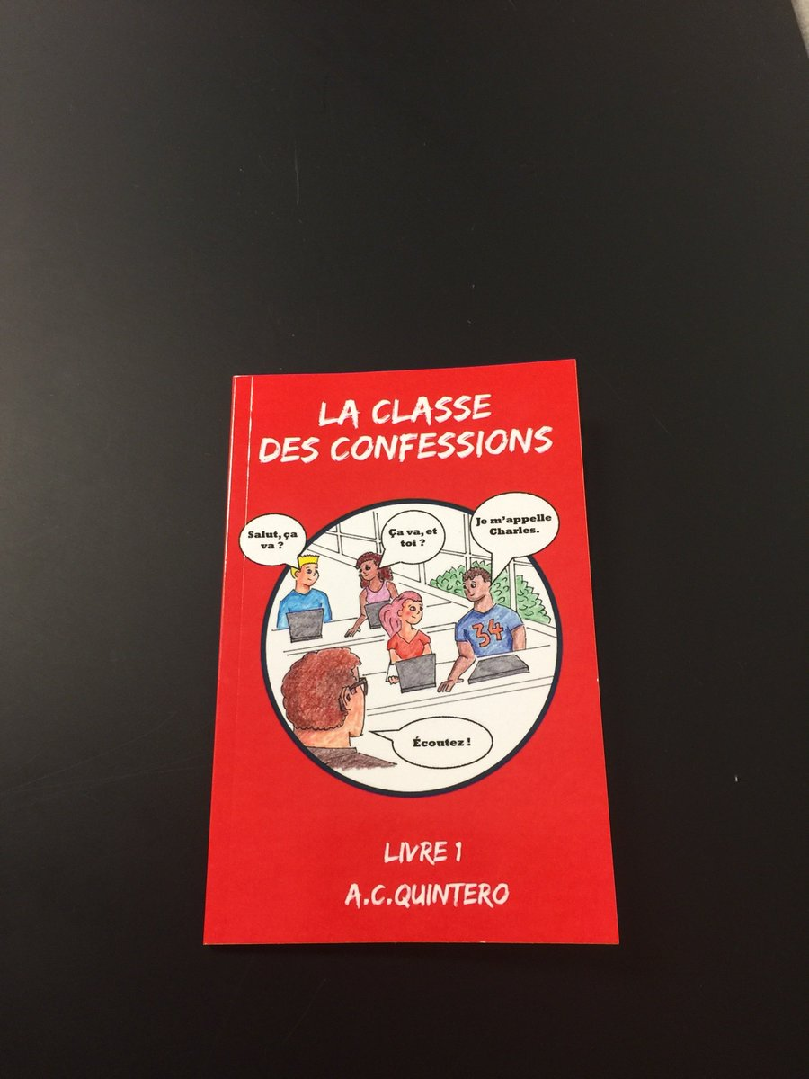 #langchat #CI French Teachers: I am thrilled to announce the newest member of the &quot;Confessions&quot; Family: La classe des confessions!  Check it out! La Classe Des Confessions (French Edition) A. C. Quintero  https://www. amazon.com/dp/1981173293/ ref=cm_sw_r_tw_dp_U_x_HoNxAbWYBE7F8 &nbsp; …  via @amazon. @mike_peto @CecileLaine @divercitymom<br>http://pic.twitter.com/PRgFZHliym