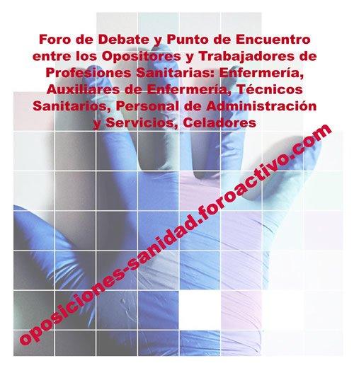 Presentación Nuevo Foro Oposiciones Sanidad... DTscPwcW0AQQbjZ