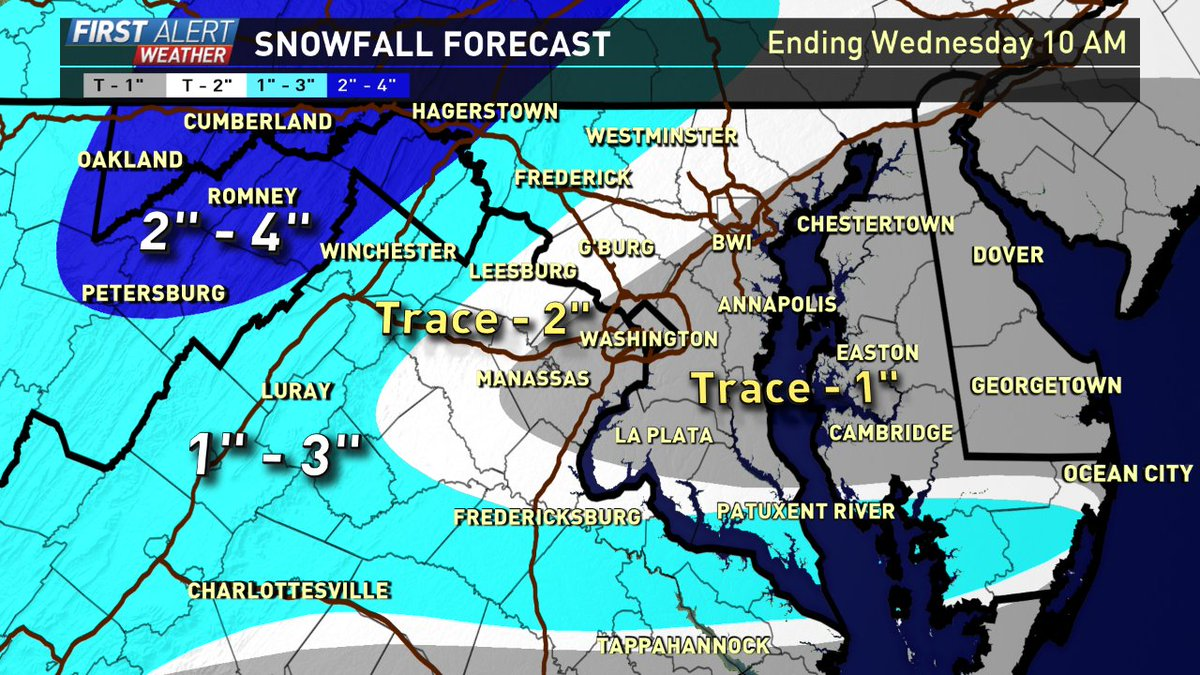 Topper Shutt On Twitter Here Is Our Updated Snowfall Map We Are - Map-of-us-snowfall