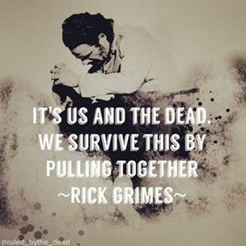 #TuesdayThoughts from Rick. #TWD #TWDFam...