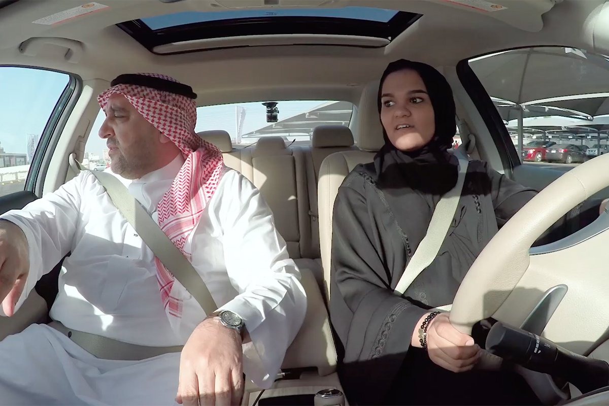 .@Nissan gives Saudi women driving lessons after country lifts ban on female drivers. https://t.co/6TnHeQeEuK https://t.co/QZgNLgMq0Y