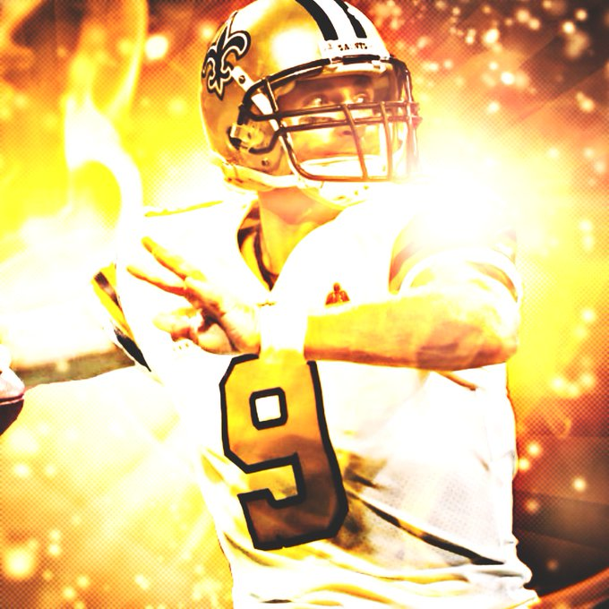 I\m late but it\s the thought that matters. Happy late Birthday to the GOAT Drew Brees