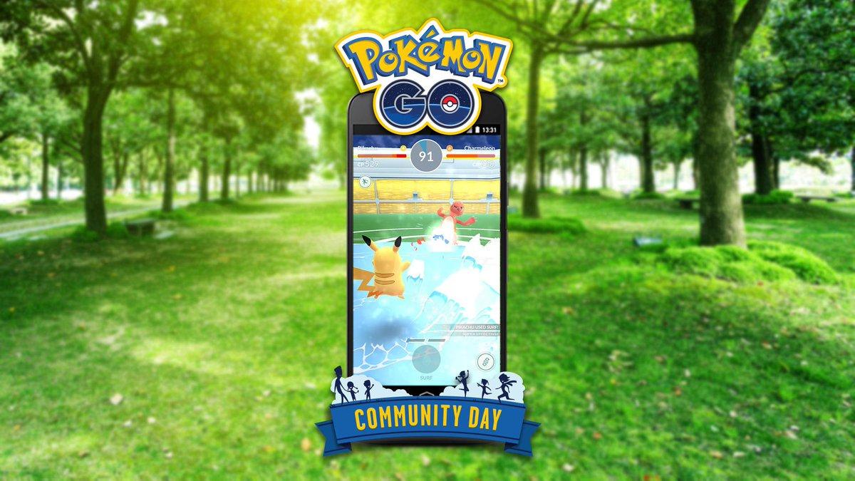 4 days left until #PokemonGOCommunityDay...