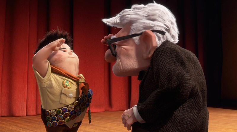 'That might sound boring, but I think the boring stuff is the stuff I remember most.' 🏠 🎈 #Up #TuesdayThoughts