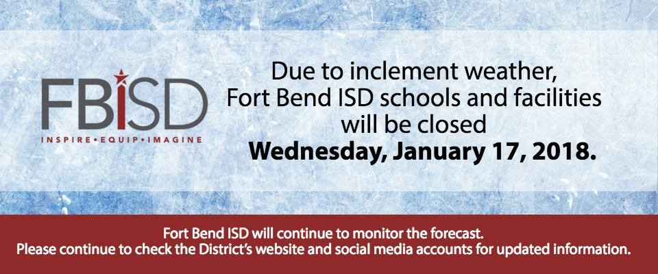 Fort Bend ISD on Twitter: