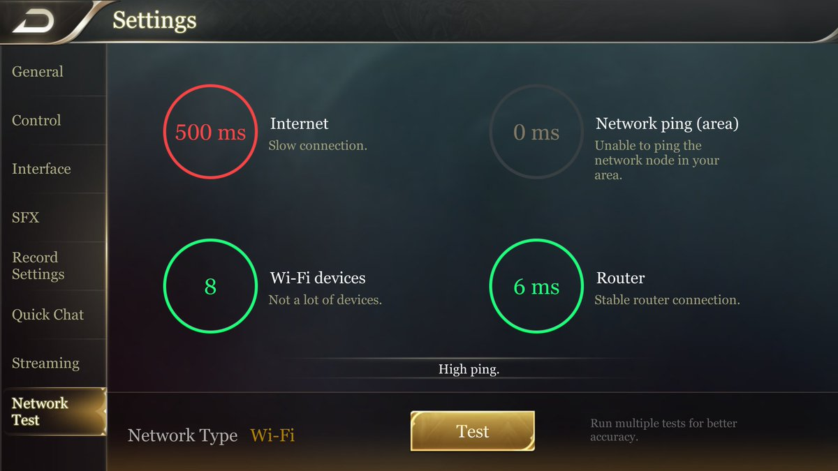 A speed test what is ping