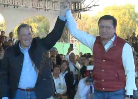Va Meade a Hidalgo y priístas gritan Oso...