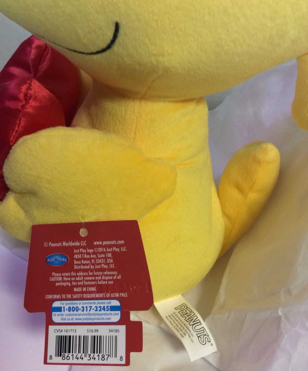 Am Itsme29a On Twitter Check Out Peanuts Woodstock Plush I Love