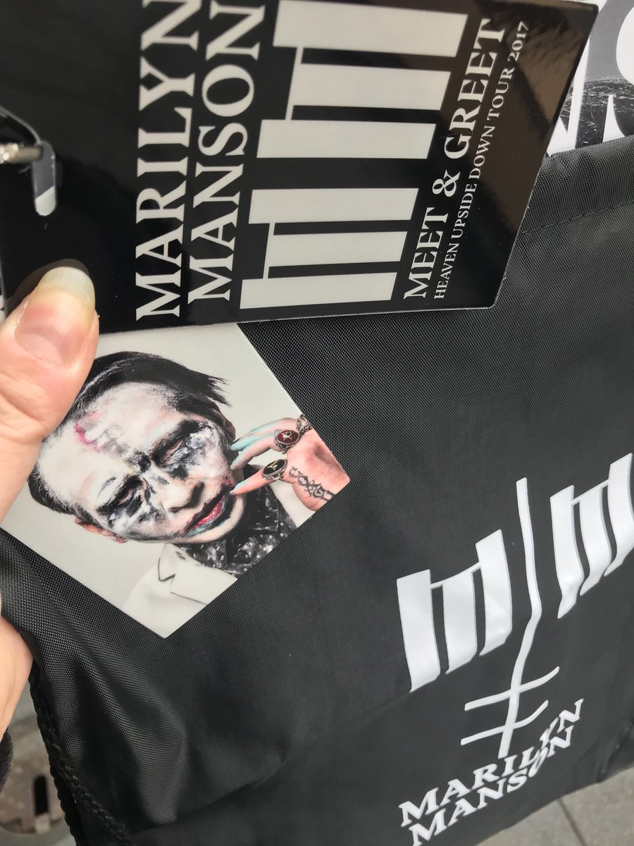 Jina on twitter here are the polaroids from meeting marilynmanson marilyn manson swag m4hsunfo
