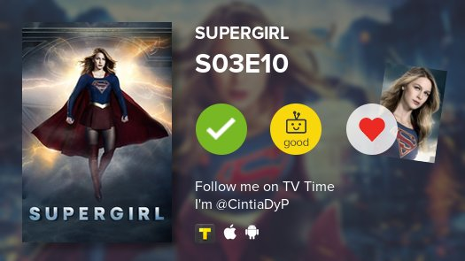 Cíntia Rodrigues's photo on #Supergirl