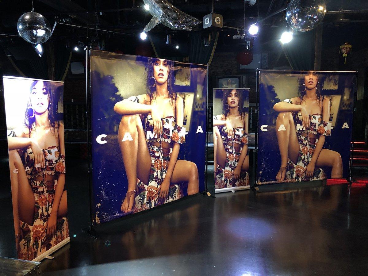 📸  Camila's pop-up shop in LA today (via...