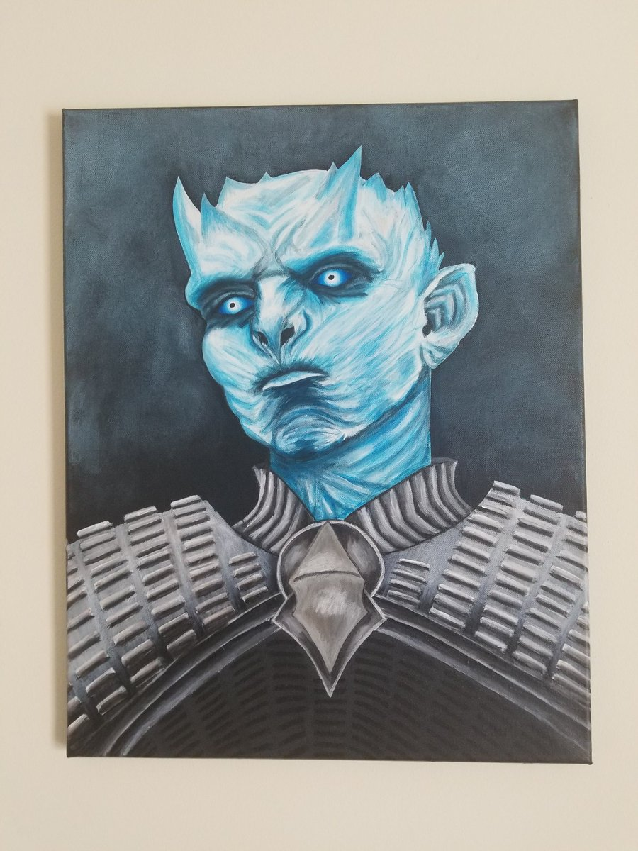 @GameOfThrones this painting my sister d...